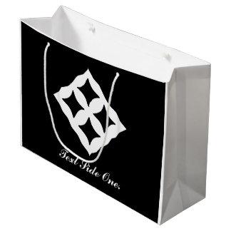 Eban | Adinkra Symbol of Love, Safety, Protection Large Gift Bag