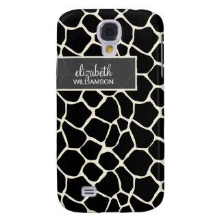 Ebony Giraffe Pern Galaxy S4 Case