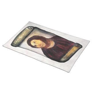 ECCE HOMO Spanish Painting Restoration Placemat