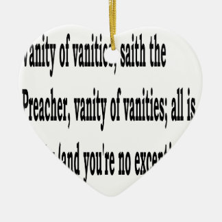 Eccles. 1:2, w2 christmas ornament