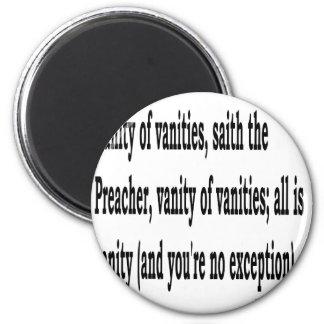 Eccles. 1:2, w2 magnet