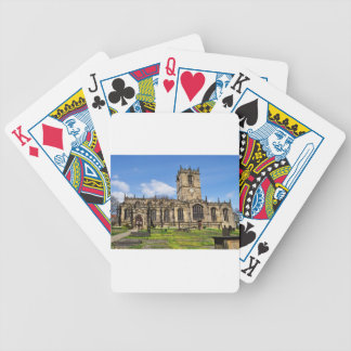Eccles field church sheffield bicycle playing cards
