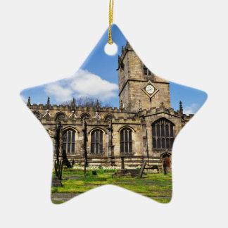 Eccles field church sheffield christmas ornament