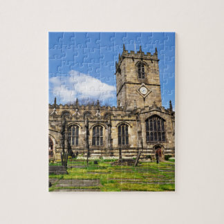 Eccles field church sheffield jigsaw puzzle