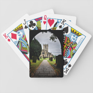 ecclesfield church bicycle playing cards