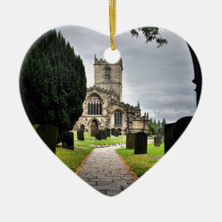 ecclesfield church christmas ornament