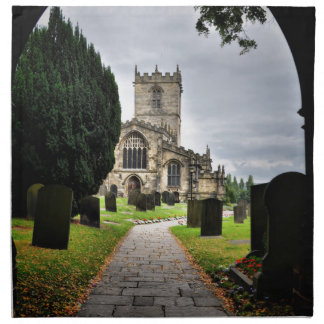 ecclesfield church napkin