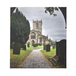 ecclesfield church notepad