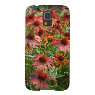 Echinacea floral print phone case