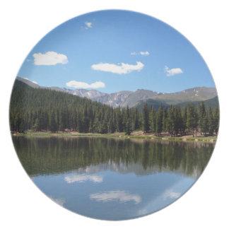 Echo Lake Mt Evans Colorado Plate