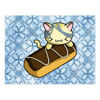 Eclair Kitty Post Cards
