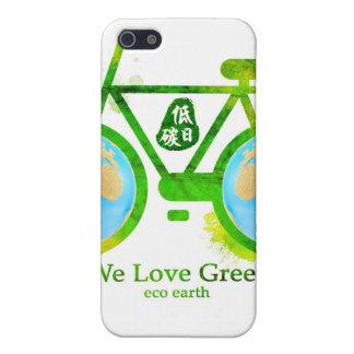 eco-friendly green bike iphone samsung RAZR case iPhone 5/5S Case