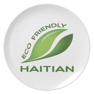 Eco Friendly Haitian. Plate