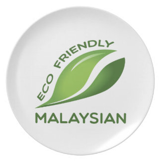 Eco Friendly Malaysian. Plate