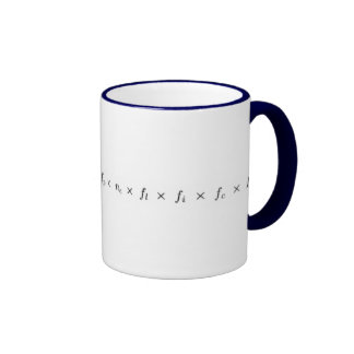 Ecuación de Drake Ringer Mug