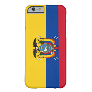 Ecuador Flag Barely There iPhone 6 Case