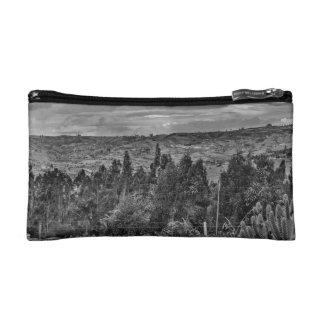 Ecuador Landscape Scene at Andes Range Makeup Bag
