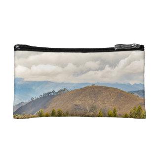 Ecuadorian Landscape at Chimborazo Province Makeup Bag