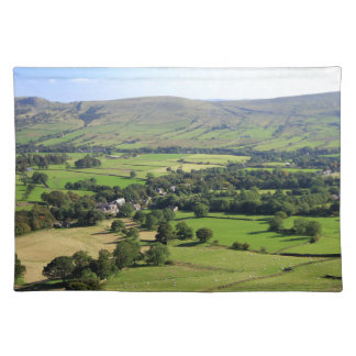 Edale valley shadows placemat