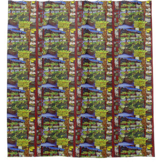 Eddie's Market, Hungary Shower Curtain