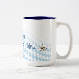 Edelweiss Alpen Cycle Coffee Mug