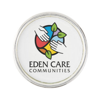 Eden Care Lapel Pin with Tagline