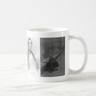 Edgar Allan Poe Collage Coffee Mug