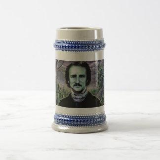 Edgar Allan Poe Gothic Beer Stein