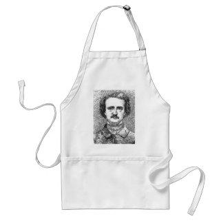 Edgar Allan Poe Portrait Standard Apron