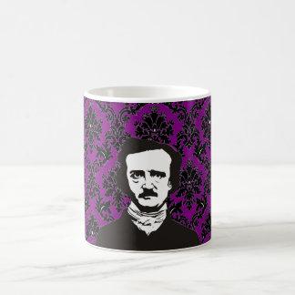 Edgar Allan Poe - purple Coffee Mug
