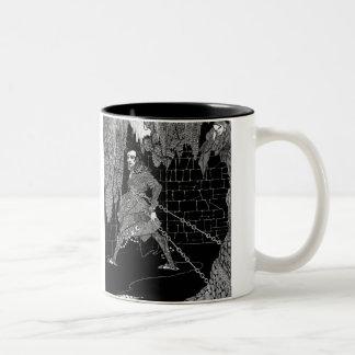 Edgar Allan Poe's Cask of Amontillado Two-Tone Coffee Mug
