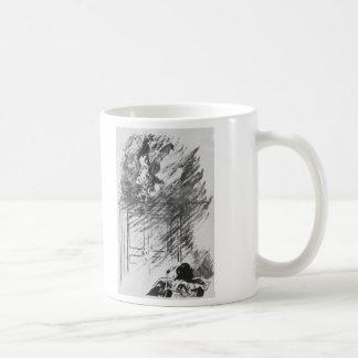 Edgar Allan Poe's The Raven By Edouard Manet Coffee Mug