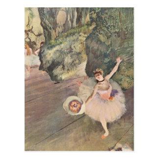 Edgar Degas | Dancer Takes a Bow | New Address Postcard
