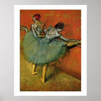 Edgar Degas | Dancers at the Bar Poster