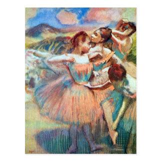Edgar Degas - Dancers in the landscape Postcard