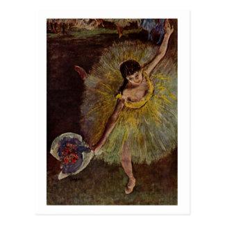 Edgar Degas | Fin d'Arabesque | New Address Postcard