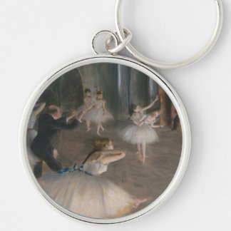 Edgar Degas Key Ring
