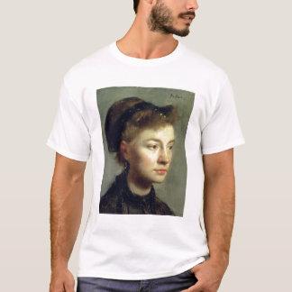 Edgar Degas | Portrait of a young woman, 1867 T-Shirt
