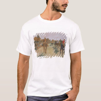 Edgar Degas | Race Horses in front of the Stands T-Shirt