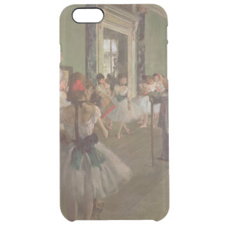Edgar Degas   The Dancing Class, c.1873-76 Clear iPhone 6 Plus Case