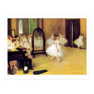 Edgar Degas | The Dancing Class | New Address Postcard