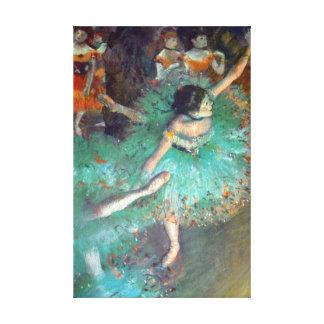 Edgar Degas - The Green Dancers - Ballet Dance Canvas Print