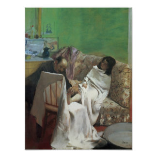 Edgar Degas | The Pedicure, 1873 Poster