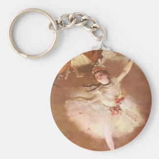 Edgar Degas The Star Keychain