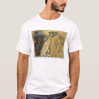 Edgar Degas | Two studies of riders  T-Shirt