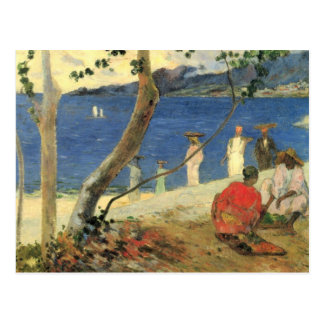 Edge of Sea - Paul Gauguin Postcard