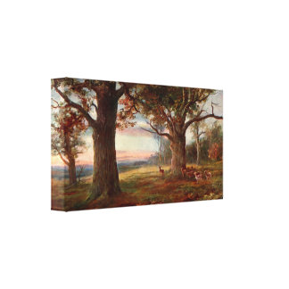 Edge of Sherwood Forest Canvas Print