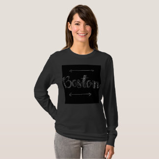 Edgy Boston Crew Neck T-Shirt