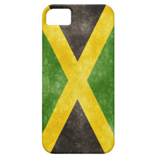 Edgy Jamaican Flag iPhone 5 Case