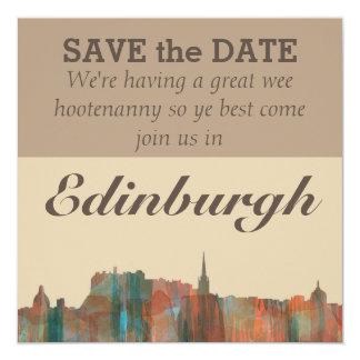 Edinburgh Scotland Skyline-Navaho Card